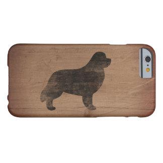 Capa Barely There Para iPhone 6 Silhueta de Terra Nova rústica