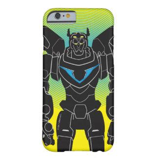 Capa Barely There Para iPhone 6 Silhueta preta de Voltron | Voltron