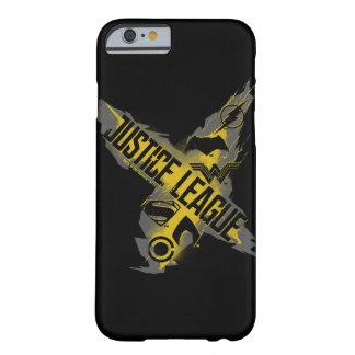 Capa Barely There Para iPhone 6 Símbolos da liga & da equipe de justiça da liga de