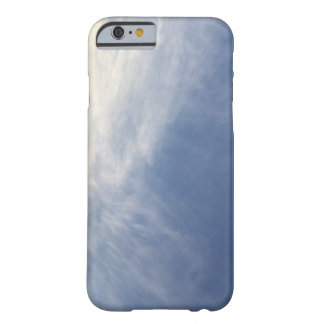 Capa Barely There Para iPhone 6 Skyblue e PhoneCase branco