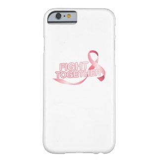 Capa Barely There Para iPhone 6 Sobrevivente cor-de-rosa da consciência da fita do