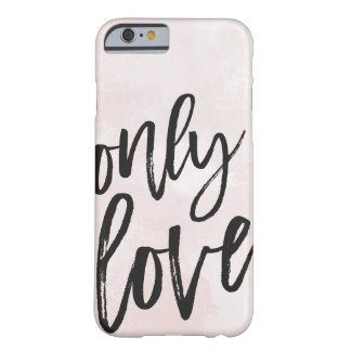 Capa Barely There Para iPhone 6 Somente amor