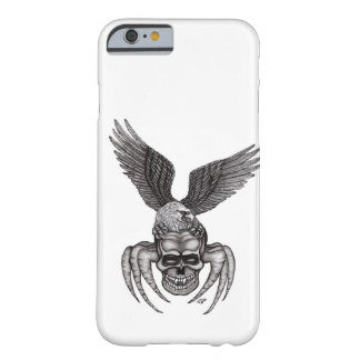 Capa Barely There Para iPhone 6 Spiderskull com Eagle