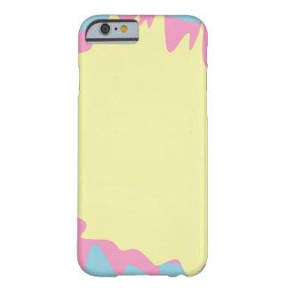 Capa Barely There Para iPhone 6 Splatter Pastel da pintura