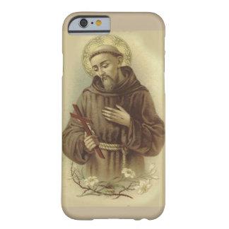 Capa Barely There Para iPhone 6 St Francis de Assisi, amante dos animais