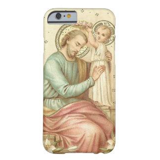Capa Barely There Para iPhone 6 St Joseph & criança Jesus