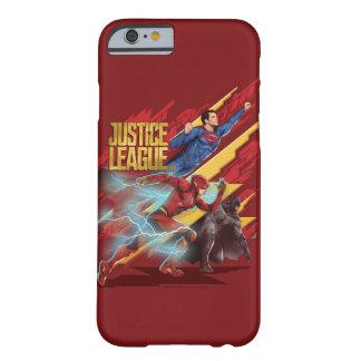 Capa Barely There Para iPhone 6 Superman da liga de justiça |, flash, & crachá de