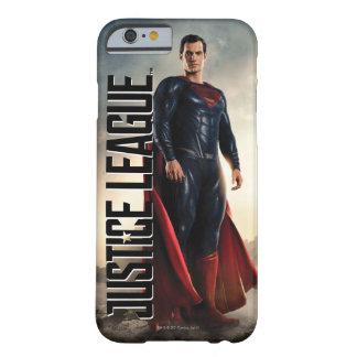 Capa Barely There Para iPhone 6 Superman da liga de justiça | no campo de batalha