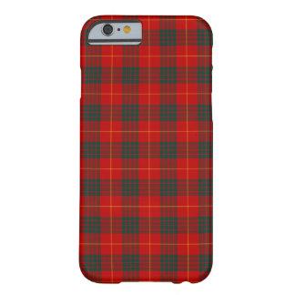 Capa Barely There Para iPhone 6 Tartan vermelho de Cameron do clã e verde