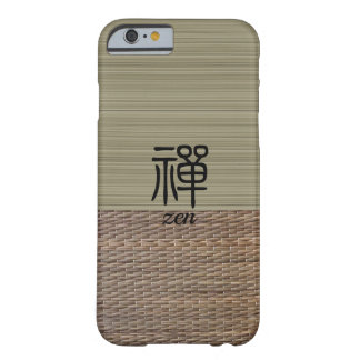 Capa Barely There Para iPhone 6 Tatami chinês da verde azeitona da caligrafia do