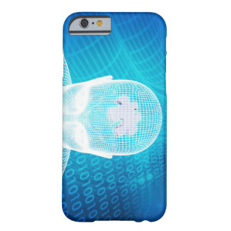 Capa Barely There Para iPhone 6 Tecnologia futurista com a microplaqueta Soluti do