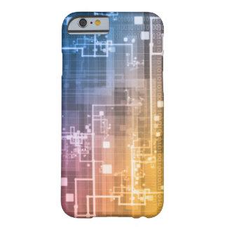 Capa Barely There Para iPhone 6 Tecnologia futurista como uma arte da próxima