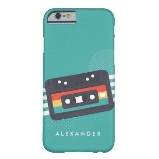 Capa Barely There Para iPhone 6 Telefone personalizado da cassete de banda
