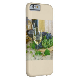 Capa Barely There Para iPhone 6 Tema elegante do vinho