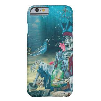 Capa Barely There Para iPhone 6 Tesouro de esqueleto do pirata sob o mar