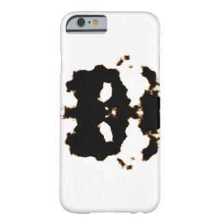 Capa Barely There Para iPhone 6 Teste de Rorschach de um cartão da mancha da tinta