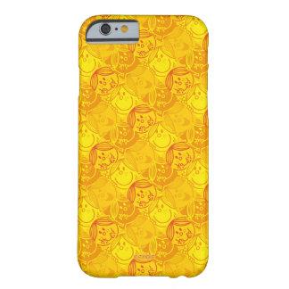 Capa Barely There Para iPhone 6 Teste padrão amarelo ensolarado pequeno da