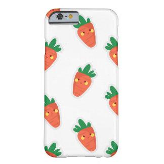 Capa Barely There Para iPhone 6 Teste padrão bonito lunático do vegetal do chibi