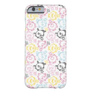 Capa Barely There Para iPhone 6 Teste padrão bonito pequeno dos Pastels da