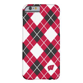 Capa Barely There Para iPhone 6 Teste padrão de Wisconsin | Argyle