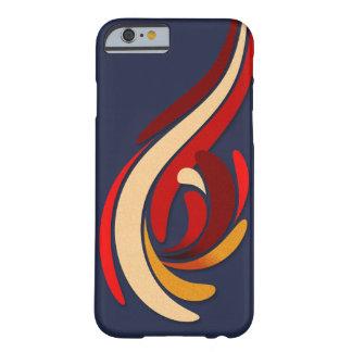 Capa Barely There Para iPhone 6 Teste padrão moderno quente do Flourish