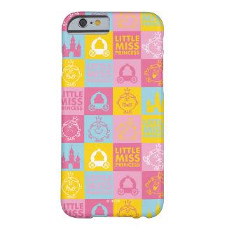 Capa Barely There Para iPhone 6 Teste padrão Pastel bonito pequeno da senhorita