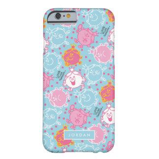 Capa Barely There Para iPhone 6 Testes padrões cor-de-rosa da senhorita princesa |