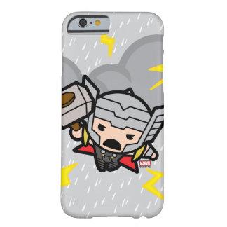 Capa Barely There Para iPhone 6 Thor de Kawaii com relâmpago
