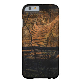 Capa Barely There Para iPhone 6 Tigre selvagem majestoso dos animais selvagens da