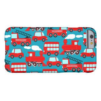 Capa Barely There Para iPhone 6 Transporte vermelho