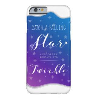 Capa Barely There Para iPhone 6 Trave uma estrela de queda