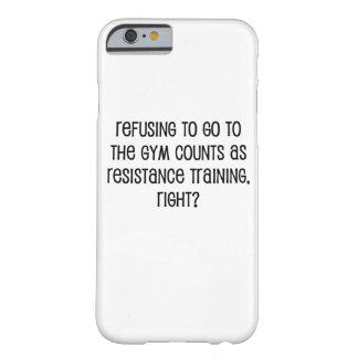 Capa Barely There Para iPhone 6 Treinamento da resistência
