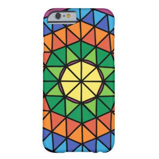 Capa Barely There Para iPhone 6 Triângulos coloridos