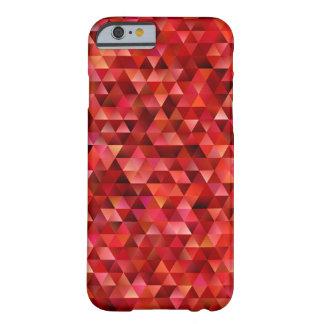 Capa Barely There Para iPhone 6 Triângulos sangrentos