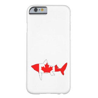 Capa Barely There Para iPhone 6 Tubarão Canadá