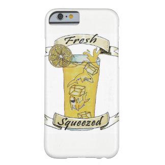 Capa Barely There Para iPhone 6 Tubarões espremidos frescos da limonada