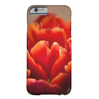 Capa Barely There Para iPhone 6 Tulipa vermelha
