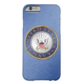 Capa Barely There Para iPhone 6 U.S. iPhone do marinho/exemplo de Samsung