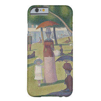 Capa Barely There Para iPhone 6 Um ~ Georges Seurat da tarde de Sundy