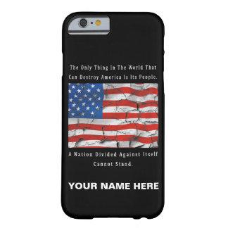 Capa Barely There Para iPhone 6 Uma nação dividida