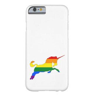 Capa Barely There Para iPhone 6 Unicórnio do arco-íris