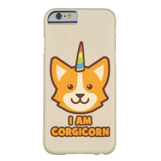 Capa Barely There Para iPhone 6 Unicórnio do Corgi - CORGICORN