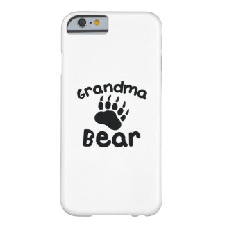 Capa Barely There Para iPhone 6 Urso da avó