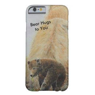 Capa Barely There Para iPhone 6 Urso do bebê com Mama Carregamento