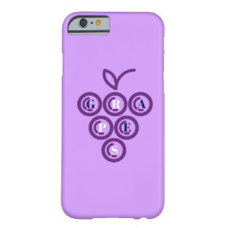 Capa Barely There Para iPhone 6 Uvas roxas