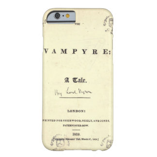 Capa Barely There Para iPhone 6 Vampiro de Byron