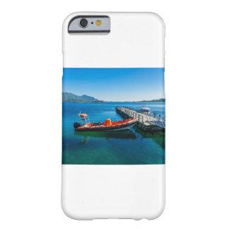 Capa Barely There Para iPhone 6 Veado da aterragem e barco da velocidade