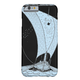 Capa Barely There Para iPhone 6 Veleiro do longship de Viking