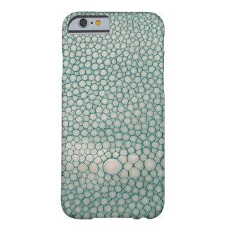 Capa Barely There Para iPhone 6 Verde de Shagreen Seafoam