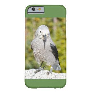 Capa Barely There Para iPhone 6 verde do exemplo do pássaro do iphone 6S